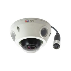 ACTi - E925M - E925m Outdr Mini Fisheye Dome 5mpix Fix
