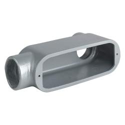 Hubbell - OLL-7 - Hubbell-Killark OLL-7 Conduit Body, Type: LL, Size: 2-1/2, Duraloy 5 Series, Aluminum