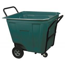 Akro-Mils / Myers Industries - 76-590  GREEN - Cart Tilt Green 90 Gal 39 1/2 Hx30 1/2 Wx47 L 450 Pound Akro-mils Akro-cart, Ea