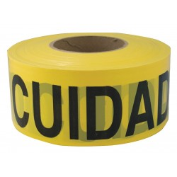 Other - 4ACD3 - Barricade Tape, Yellow/Black, 1000ft x 3In