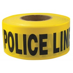 Other - 4ACD4 - Barricade Tape, Yellow/Black, 1000ft x 3In