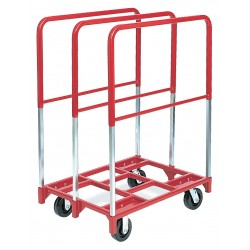 Raymond Products - 3829 - Raymond Products Panel Mover with Extra Tall Uprights - 2400 lb Capacity - 2 x 8, 2 x 8 Caster - Steel