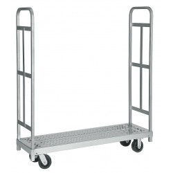 Raymond Products - 3986 - Raymond Products Narrow Tall End Truck - 1500 lb Capacity - 4 x 5 Caster - Steel - 16.2559