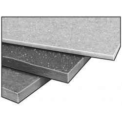 Fibergrate Composite Structures - 870170 - Vinyl Ester, Gry, 1/4 x12x12 In
