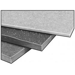 Fibergrate Composite Structures - 870190 - Vinyl Ester, Gry, 1/2 x12x12 In