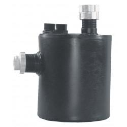 Watts Water Technologies - OF59155-200 - 9 x 12-11/64 1-1/2 gal. Polyethylene Dilution Basin Trap Neutralization Tank, Black