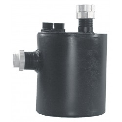 Watts Water Technologies - OF59155-202 - 9 x 12-11/64 1-1/2 gal. Polyethylene Dilution Basin Trap Neutralization Tank, Black