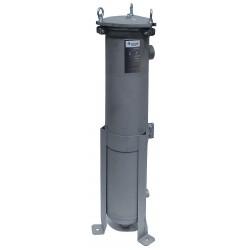 Pentair - 156111-75 - 2 (F)NPT Aluminum Bag Filter Housing, Bottom Outlet, 90 gpm