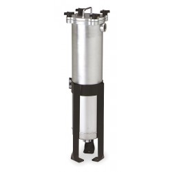 Pentair - 156118-75 - 3 (F)NPT Carbon Steel Bag Filter Housing, Bottom Outlet, 200 gpm