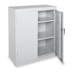 Sandusky Lee - CA21361842-05 - Storage Cabinet, Dove Gray, 42 Overall Height, Assembled