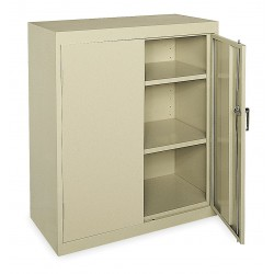 Sandusky Lee - CA21361842-04 - Storage Cabinet, Tropic Sand, 42 Overall Height, Assembled