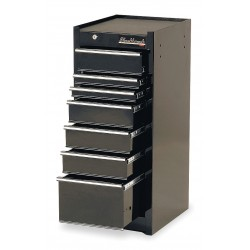 Blackhawk / Stanley - 90007S - Cabinet Side 7 Drawer Blk