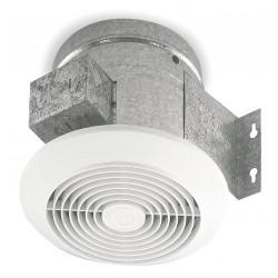 Broan-NuTone - 673 - Broan 673 Ceiling Fan - Steel Housing - White