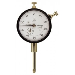 "Mitutoyo - 2904S - Continuous Reading Dial Indicator, AGD 2, 2.240"" Dial Size, 0 to 1"" Range"