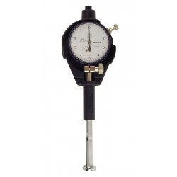 "Mitutoyo - 526-123 - Dial Bore Gage, 0.4 to 0.7 Measuring Range (In.), 0.0001"" Graduations"