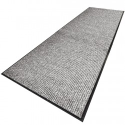 Notrax - 117S0310GY - Gray Needle-Punched Yarn, Entrance Runner, 3 ft. Width, 10 ft. Length