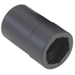 OTC - 1949A - 1-1/2 Alloy Steel Budd Wheel Socket with 1 Drive Size and Natural Finish