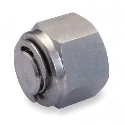 Ham-Let - 7121L-SS-6MM - 316 Stainless Steel LET-LOK Tube Plug, 6mm Tube Size
