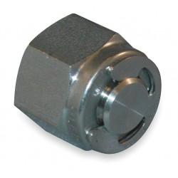 Ham-Let - 7121L-SS-10MM - 316 Stainless Steel LET-LOK Plug, 10mm Tube Size