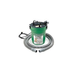 Greenlee / Textron - 50385941 - 5 gal. Hand Carried Vacuum/Blower Power Fishing System