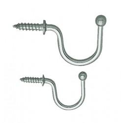 Sugatsune - 4CRW9 - Screw In Utility Hook; 1 Hook(s); Stainless Steel