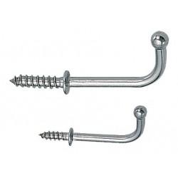 Sugatsune - 4CRX8 - Screw In Utility Hook; 1 Hook(s); Stainless Steel