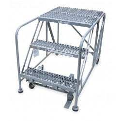 Cotterman - 3WP2424A3B4B8AC1P6 - Rolling Work Platform, Steel, Single Access Platform Style, 30 Platform Height
