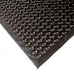 Notrax - 562S0035BL - Drainage Mat, Black, 5 ft. x 3 ft., Rubber, 1 EA