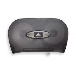 "Georgia Pacific - 59206 - Georgia-Pacific Double Roll Bath Tissue Dispenser - Pull Out Dispenser - 2 x Roll - 8.6"" Height x 13.6"" Width x 5.7"" Depth - Black"