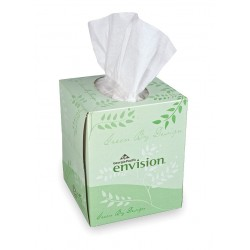 Georgia Pacific - 47510 - Facial Tissue, Envision, Cube Box, PK36