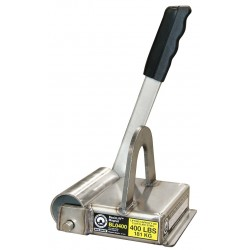 World of Welding - BL0400 - Lifting Magnet, 400 lb Cap, 6-1/2 In OAL