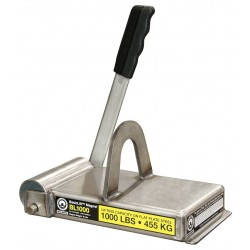 World of Welding - BL1000 - Lifting Magnet, 1000 lb Cap, 9-1/2 In OAL
