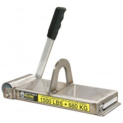 World of Welding - BL1500 - Lifting Magnet, 1500 lb Cap, 13-3/4 In OAL