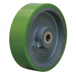 Hamilton Caster - W-1030-DB-3/4 - 10 Caster Wheel, 3000 lb. Load Rating, Wheel Width 3, Polyurethane, Fits Axle Dia. 3/4
