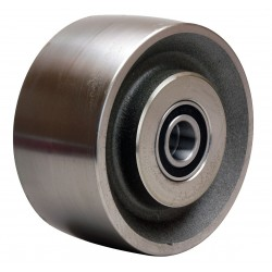 Hamilton Caster - W-630-FSB-3/4 - 6 Caster Wheel, 4000 lb. Load Rating, Wheel Width 3, Steel, Fits Axle Dia. 3/4