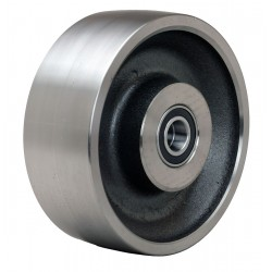 Hamilton Caster - W-830-FSB-3/4 - 8 Caster Wheel, 7000 lb. Load Rating, Wheel Width 3, Steel, Fits Axle Dia. 3/4