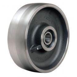 Hamilton Caster - W-1030-FSB-3/4 - 10 Caster Wheel, 6500 lb. Load Rating, Wheel Width 3, Steel, Fits Axle Dia. 3/4