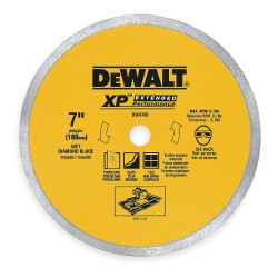 "Dewalt - DW4761 - 10"" Wet Diamond Saw Blade, Continuous Rim Type"