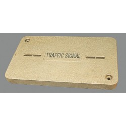 Hubbell - PG1324HA0046 - PG Underground Enclosure Cover, Traffic Signal, For Use With 15-1/2 x 25 Enclosure