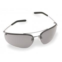 3M - 15171-10000-20 - Eyewear Metaliks Silver Frame Gray Lens Anti Fog Ansi Z87.1 Csa Z94.3 Ao Safety Aearo, Ea