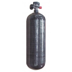 Air Systems - AC-87 - Air Systems International 87 CF Carbon Fiber 4500 PSI Air Storage Cylinder, ( Each )