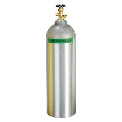 Air Systems - AC-60 - Air Systems International 60 cu ft Aluminum Air Storage Cylinder For Supplied Air Respirator, ( Each )