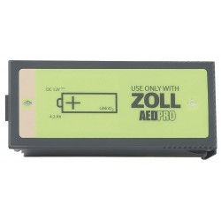 Zoll Medical - 8000-0860-01 - Non Rechargeable Battery Pack, Voltage 12, 1 EA