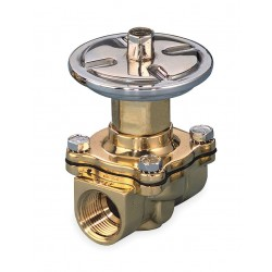 Asco - P210D009 - 2-13/16 x 2-5/16 x 4-9/32 Air Operated Valve Normally Closed, 3/4 Orifice Dia., 5.5 Coefficient