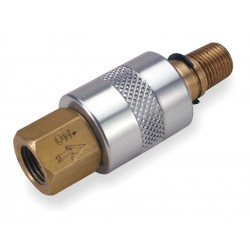 Ingersoll-Rand - 600-2 - 1/4 Zinc Plated Carbon Steel Sleeve Valve with 3-Way, 2-Position Air Valve Type