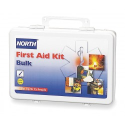 North Safety / Honeywell - 019706-0004L-EACH - FIRST AID KIT 75PERSON PLASTIC (Each)