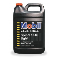 ExxonMobil - 100848 - Liquid Spindle Bearing Oil, Base Oil : Mineral, 1 gal. Jug