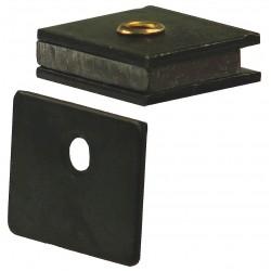 Monroe - 4FCV5 - Magnetic Non-locking Magnetic Catch, 1H x 59/64W, Zinc Finish
