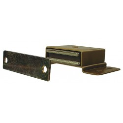 Monroe - 4FCV7 - Magnetic Non-locking Magnetic Catch, 3-1/2H x 2W, Dull Finish