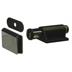 Monroe - 4FCX1 - Magnetic Non-locking Glass Door Magnetic Catch, 1-3/32H x 1-19/32